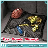 Free shipping  Nylon Car Rear Cargo Trunk Storage Organizer Net for SUV CR-V Tucson Qashqai IX35 Tiguan X3 CA00948