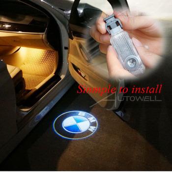 Бесплатная доставка простой colortemperature новинка двери автомобиля добро пожаловать лазерные лучи с логотипом автомобиля светильник-проектор