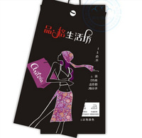 Wholesale free shipping - clothing label tag, the spot can be wholesale and can be customized