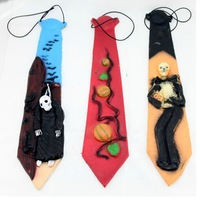 Free Shipping !!! Halloween Horror Terror Ghost Tie Clothing Accessories Ball Dress Up Party Make Up High Quality 3pcs/lot #H103