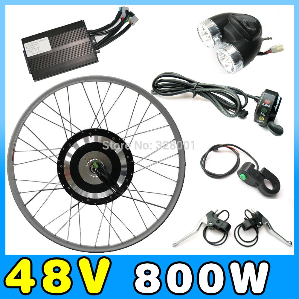 Мотор для электровелосипеда 48V 800W ebike