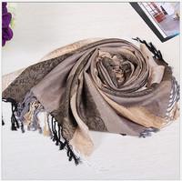 70cm*175cm Fashion Vintage Tassels Women's Printing Scarf Brand winter Wrap Cotton Shawl Pashmina Tassels Scarves Free Shipping