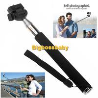 High Quality Gopro Aluminium Handheld Extendable Monopod Pole For Gopro Hero Camera HD 3+ 3 2 1 Self Portrait Go Pro Accessories