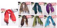 70cm*175cm Fashion Vintage Tassels Women's Printed Scarf Brand winter Wrap Cotton Shawl Pashmina Tassels Scarves Free Shipping