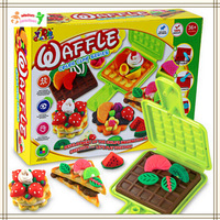HWP Learning  Education Playdough  Pretend Play Kitchen Toys 3 D color mud immitation food  Playdough