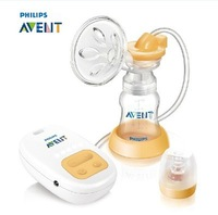 Original !!!New  electric breast pump breast pump SCF902/01 pp material baby suction+free shipping!