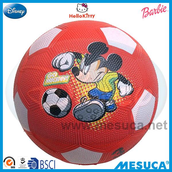 MESUCA спорта disney красный резиновый футбол
