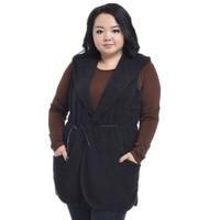 Plus Size Women Clothing Fashion 2014 New Arrival Fat Women's Lagre Size Spring Autumn Fleece Vest Coat Jackets High Quality 904