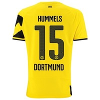 Borussia Dortmund Hummels #15 Home Jersey 14/15