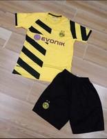 The best Thai version 2014/2015 new children's sportswear football kit Champions Dortmund Dortmund Kids