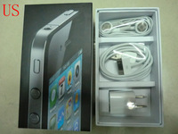20 pcs/lot Free DHL phone box package boxes for iphone 4 4G 4s with full accessories US version packing package box cases