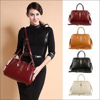 Good Quality Fashion Vintage Brand New Women Handbag Cowhide Genuine Leather Luxury Bag Woman Shoulder Retro Messenger Bag NO731