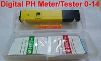 2014 New Digital PH Meter/Tester 0-14 Pocket Pen Aquarium accurate and durable Pool Water Laboratory Newest