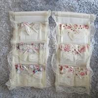 Free shipping, hanging bag behind door bag, 3 pockets Sundries bag, hanging bag for Sundries | same as picture
