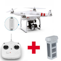 Free Shipping DJI Phantom 2 RTF Drones With Zenmuse H3-3D Gimbal And Second Battery For Gopro Hero 3+ Camera Quadcopter FPV