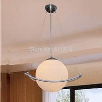 Minimalist modern restaurant chandelier lamp living room lamp single head right lighting fixtures American pastoral meal