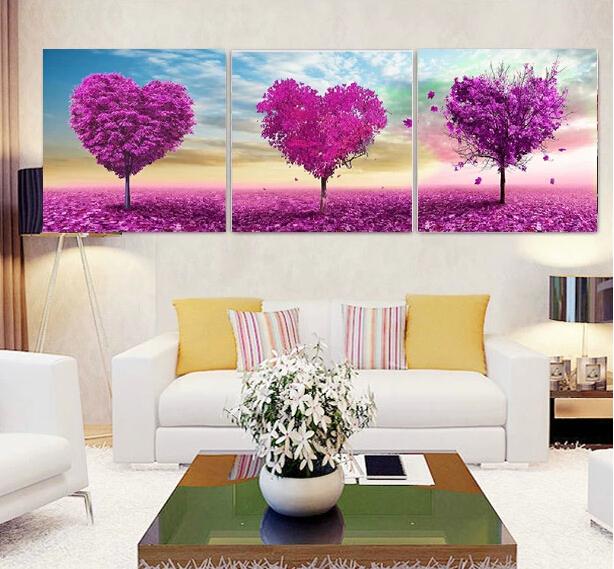 New DIY Diamond Painting Love Tree Cross Stitch Dream Romantic Rhinestone Pasted Painting HS-4-54(China (Mainland))