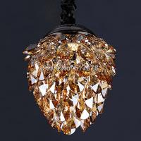 crystal lamps light the corridor entrance hall lights closet lights led lights strawberries single head of creative small