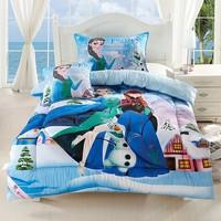 Free  Shipping! New Arrival Cartoon Kids Cartoon Movie Quilt  Elsa Anna Children Cotton Quilt & Comforter 150*200cm Winter Warm