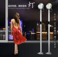 Excellent ocean floor lamp LED piano lamp creative lamp modern minimalist bedroom, living room floor lamp remote control