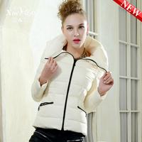 2013 slim candy color fashion design short down coat women xa-b1302