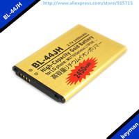 Free shipping 2pcs BL-44JH 2450mAh High Capacity Gold Business Battery for LG MS770 Optimus L7 P705 Batterie Bateria Batterij
