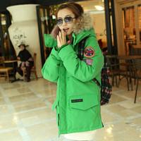 winter coat women faux fur hoodie parka duck down jacket jaqueta feminina  casaco feminino inverno 2014 S M L red green black