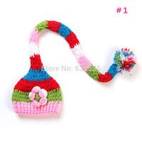 Cute Baby Newborn Nursling Photo Photography Props Costume Handmade Crochet Knitted Hat Animal Mouse Head Beanie Cap Set