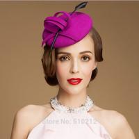 Export PARIS 100% Imported Australian wool Top hat mini  top hat headband