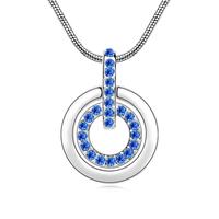 Fashion elegant austria crystal supplement necklace - - - g058