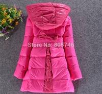 -40c  2014 brand Girls down coat down jacket winter children outerwear coats jacket  Down Parkas for girls 120  130 140  Y2816