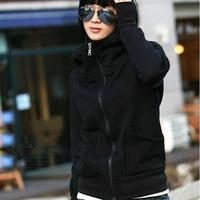 2014 New Autumn Winter New Fashion Casual Slim Cardigans Thin Long-sleeved Zipper Pure Free Women hoody Hoodies Sweatshirts 805E