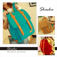 New 2014 vintage style women canvas backpack girls Leisure school backpack Kids Schoolbags Teenagers bag large casual travel bag