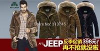 2014 Winter Jacket Men Down Parka outwear coat jacket  men's long pleuche heavy hair thickening down jacket