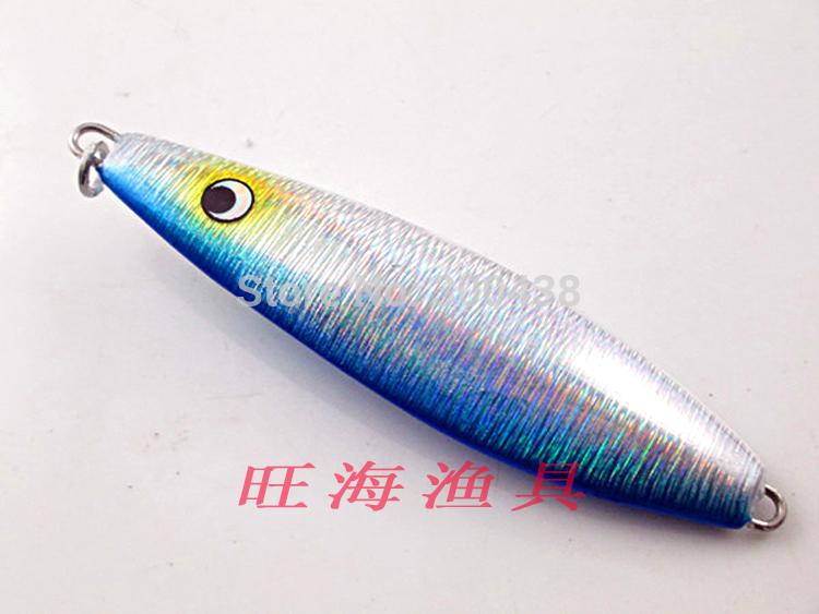 fly fishing rod metal jig banjo minnow lure 1pcs free shipping(China (Mainland))