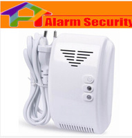 Wireless Independent Combustible Gas Detector for Home GSM/PSTN Burglar Alarm System 2262 433Mhz
