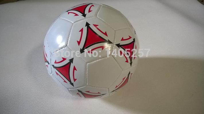 Popular Soccer ball PVC football new design(China (Mainland))
