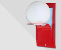 Wall lamp modern brief fashion glass ball ofhead led balcony child wall lamp