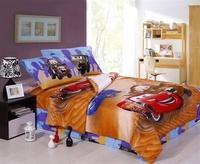 New cartoon kids cars bedding sets,cotton 3pc bedding sets with out filler ,kids bedding sheet,cars comforter bedding twin full