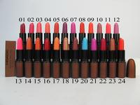 10pcs/lot wholesale new fashion NO 555 makeup lipstick,20color option free shipping