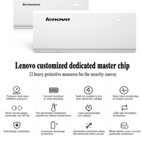 New Arrival  Original 10400mAh Lenovo Power Bank Smart Mobile Phone White Portable Charger Dual USB Output For Xiaomi Lenovo
