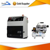 2014 NEW  Hot OCA Vacuum Laminating Machine Refurbish Repair Lamination Machine And Air Compressor  Set
