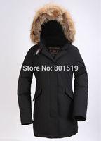 free shipping women's down coat wool rich down jacket winter warm down coat women long style jacket