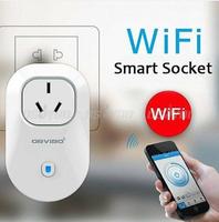 Wifi Multi-function Wireless Remote Control Switch Timer Smart Power Socket Plug Free Express 10pcs/lot