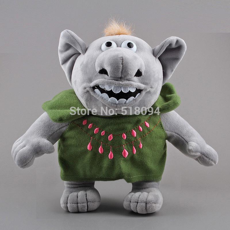 замороженные троллей плюшевые игрушки Каменный монстр
