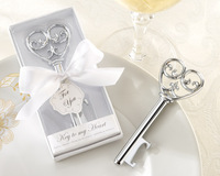 Holiday Supplies Key to my Heart Bottle opener Wedding favors and gifts 20PCS/LOT