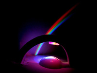 Colorful Magic Romantic LED Rainbow Projector Color Night Lamp Light Baby Light Projector