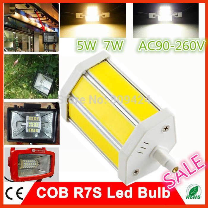 Светодиодная лампа OEM 1 90/260 5W 7W R7S CE & RoHS светодиодная лампа oem b22 3w 5w 7w 9w 12w 15w 220v ce fcc