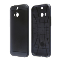 Freeshipping New 2014 High Quality Anti-knock Slim Armor Case for HTC One M8 - Assorted Colors JK8