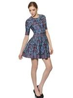 Fall 2014 Top Quality Charming Super Stretch Short Sleeve Knit  Dress 140807LJ01